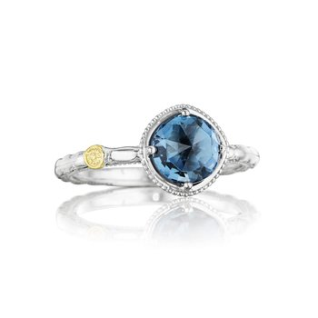 Simply Gem Ring featuring London Blue Topaz