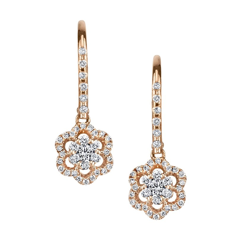 MARS Jewelry MARS 25844 Fashion Earrings, 0.21 Ctw.