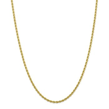 Leslie's 10K 2.75mm Diamond Cut Rope Chain
