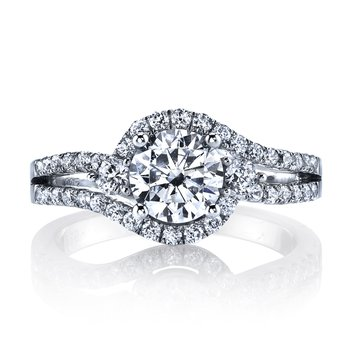 Diamond Engagement Ring 0.56 ct tw