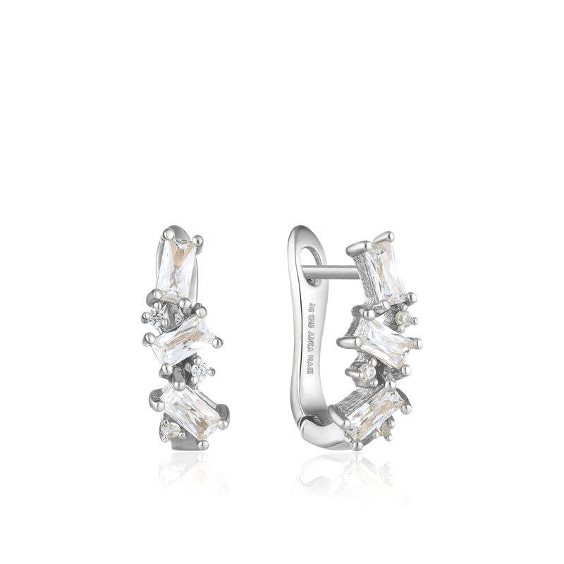 Ania Haie Cluster Huggie Earrings