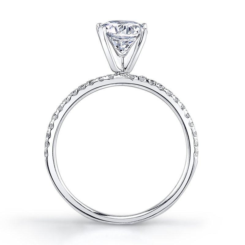 MARS Jewelry MARS 26297 Engagement Ring 0.15 Ctw.