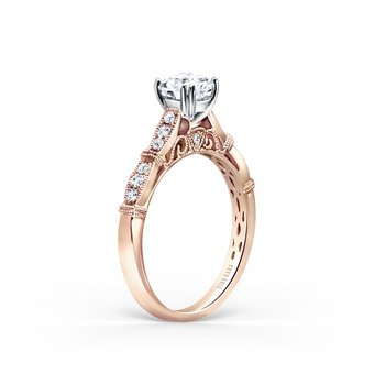Distinctive Diamond Engagement Ring