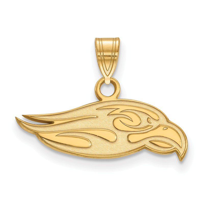 NCAA Gold-Plated Sterling Silver Liberty University NCAA Pendant