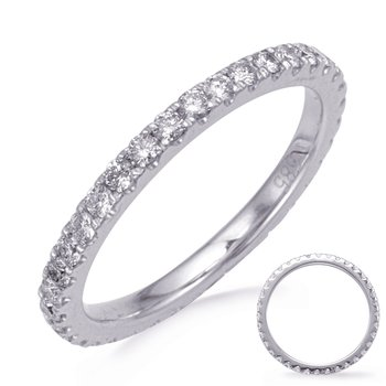 White Gold Eternity Diamond Band