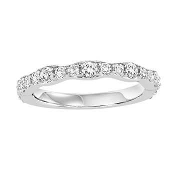 14K Diamond Matching Band 5/8 ctw