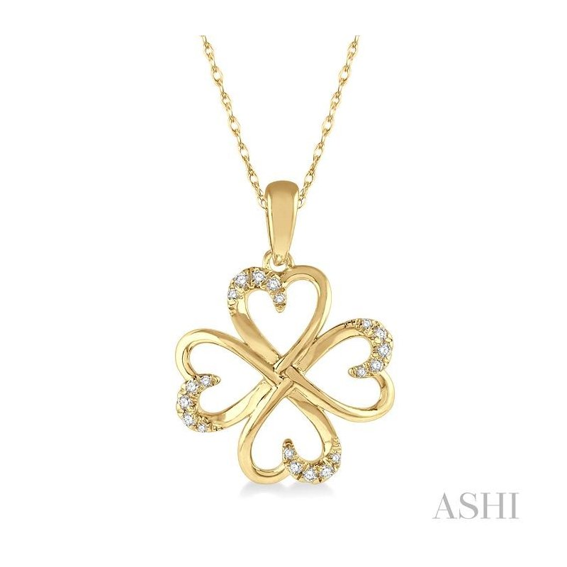 Barclay's Signature Collection diamond heart shape pendant