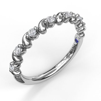 Diamond Stackable Band