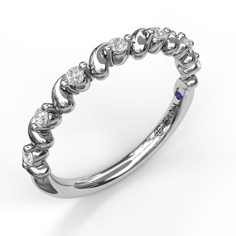 Fana Diamond Stackable Band