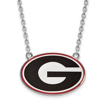 Sterling Silver University of Georgia NCAA Necklace