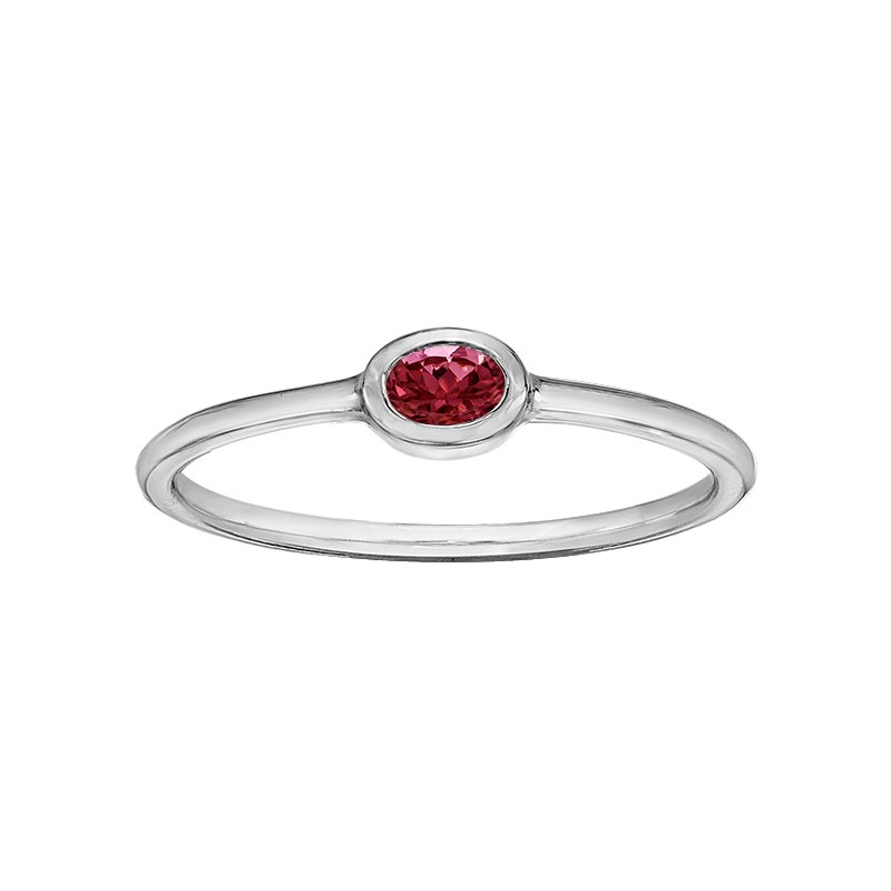 Lasting Treasures™ Garnet Ladies Ring