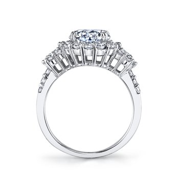 MARS 25606 Diamond Engagement Ring 1.06 Ctw.