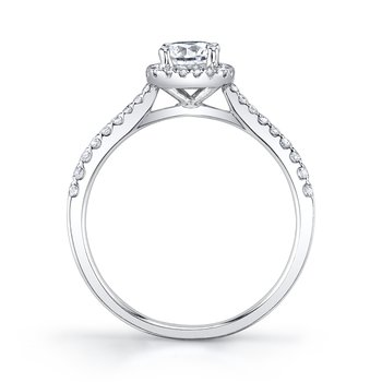 MARS 25150-R50 Engagement Ring, 0.20 Ctw.