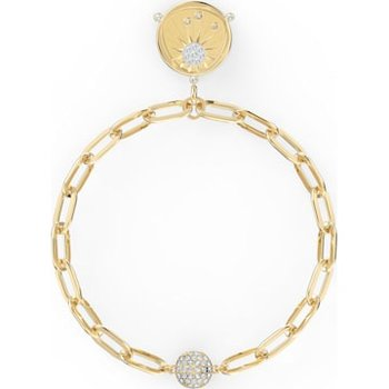 The Elements Sun Bracelet, White, Gold-tone plated