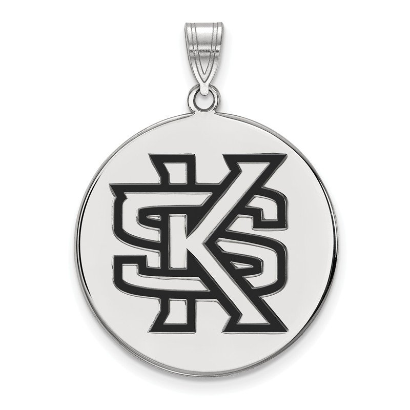 NCAA Sterling Silver Kennesaw State University NCAA Pendant