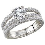 Romance Semi-Mount Diamond Engagement Ring