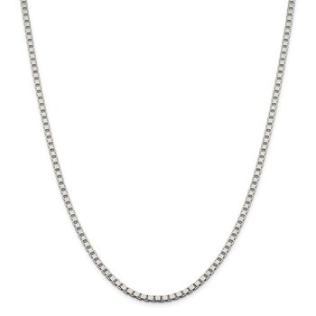 Sterling Silver 3.25mm Box Chain
