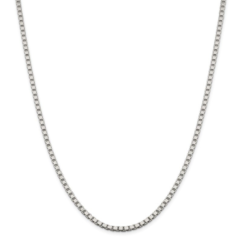 Quality Gold Sterling Silver 3.25mm Box Chain