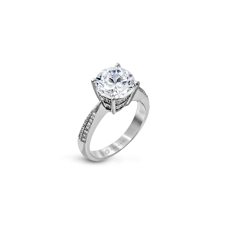 Zeghani ZR1284 ENGAGEMENT RING