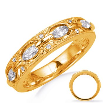 Yellow Gold Weddding Band