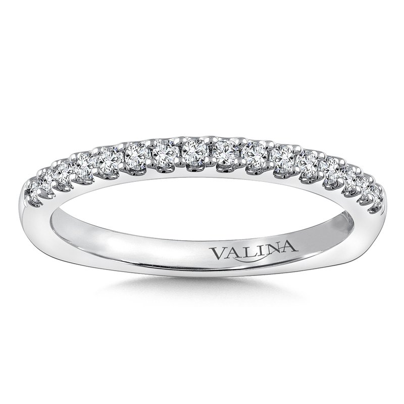 Valina Stackable Wedding Band in 14K White Gold (.22 ct. tw.)