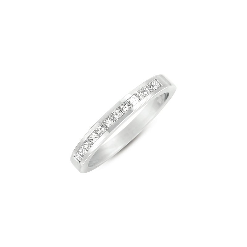S. Kashi & Sons Bridal Princess Cut Diamond Band