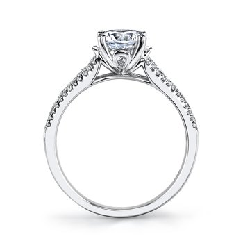 25282 Diamond Engagement Ring 0.46 ct tw