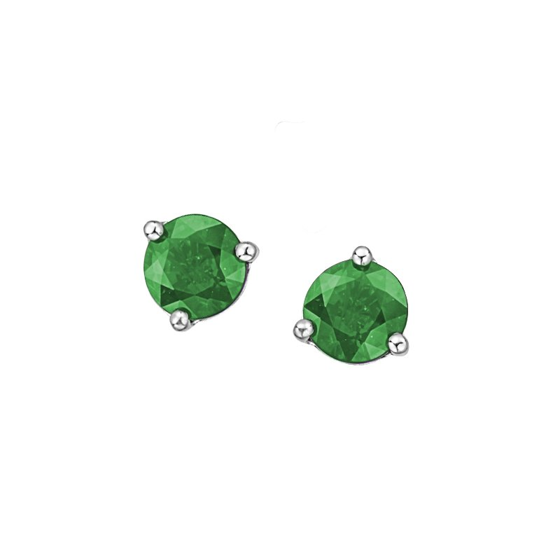 Diamond Days Emerald Earrings