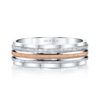 MARS G102 Men's Wedding Band