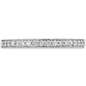 0.18 ctw. Liliana Milgrain Diamond Band