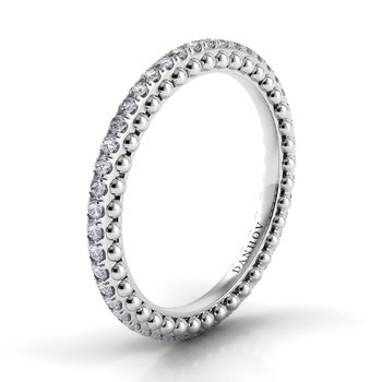 Petalo Round Diamond Band