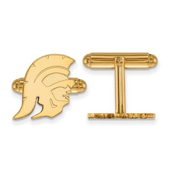 Gold University of Southern California NCAA Cuff Links
