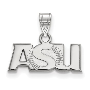 Sterling Silver Arizona State University NCAA Pendant