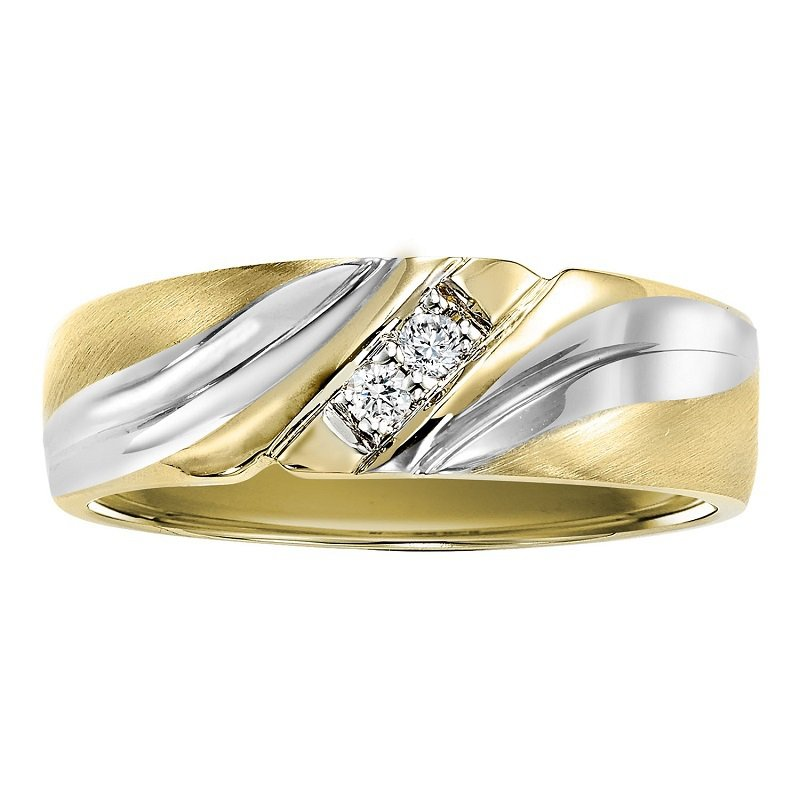 Bridal Bells 14K Diamond Men's Band