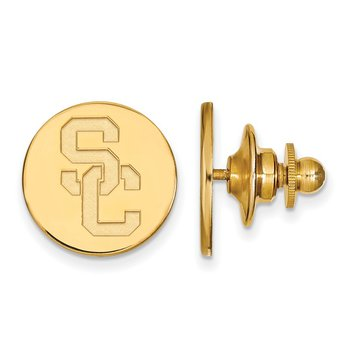 Gold-Plated Sterling Silver University of Southern California NCAA Tie Tac