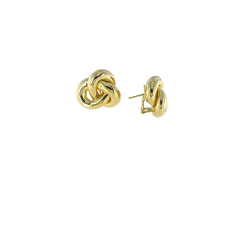 #26699 Of 18Kt Gold Knot Earrings