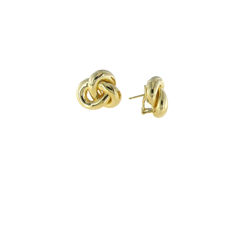 Roberto Coin  #26699 Of 18Kt Gold Knot Earrings