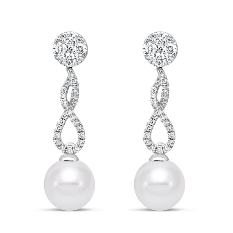 Mastoloni Pearls Infinity Pearl Earrings