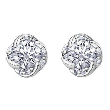 Maple Leaf Diamonds™ Wind's Embrace™ Earrings
