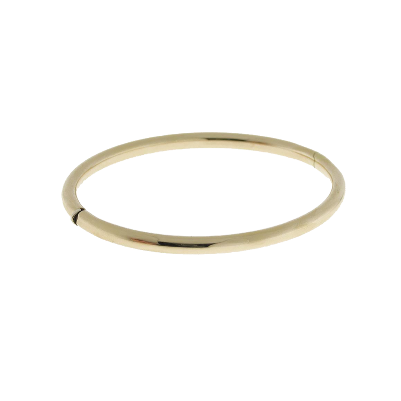 Roberto Coin 18KT GOLD CLASSIC ROUND BANGLE