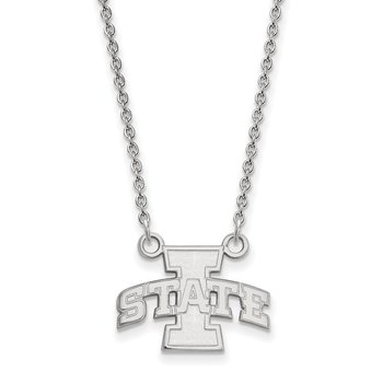 Gold Iowa State University NCAA Necklace