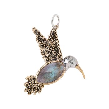 Fly Lightly Hummingbird Pendant