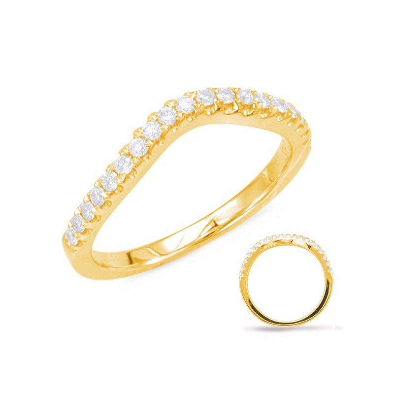 S. Kashi & Sons Bridal Yellow Gold Wedding Band