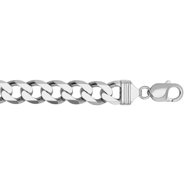 Royal Chain Silver 11.6mm Comfort Curb Chain