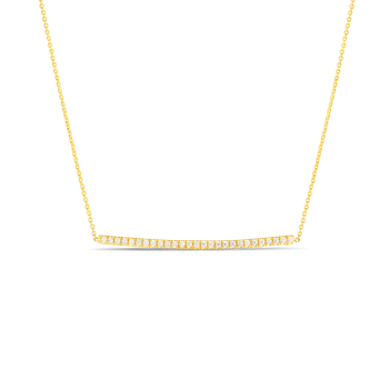 #26643 Of Diamond Bar Pendant On Chain
