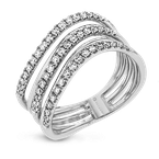 Zeghani ZR1611 RIGHT HAND RING