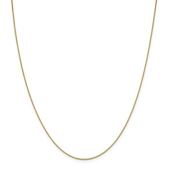 18K Leslie's .7mm Box Chain