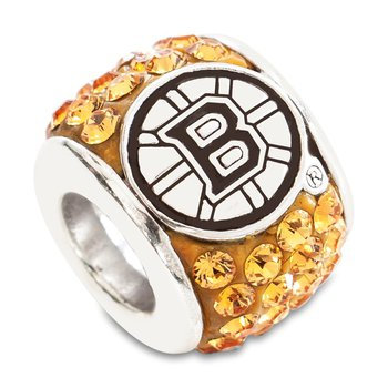 Sterling Silver Boston Bruins NHL Bead