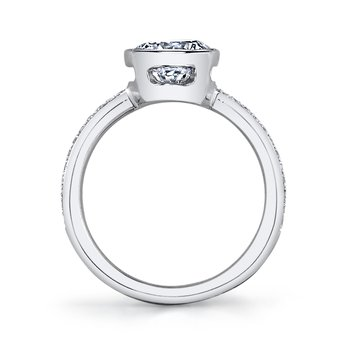 MARS 26702D Diamond Engagement Ring 0.12 Ctw.