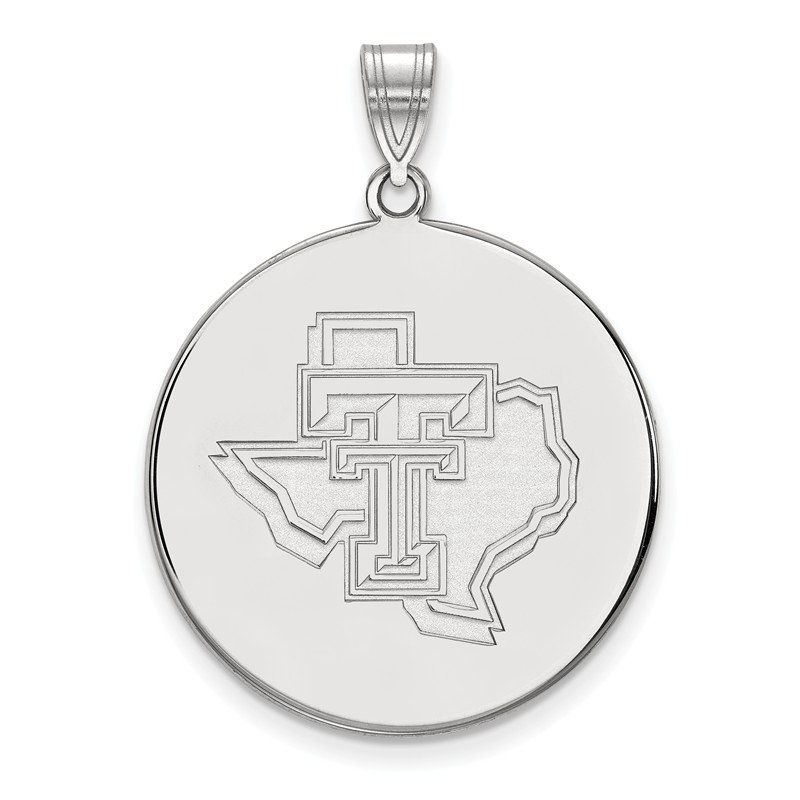 NCAA Gold Texas Tech University NCAA Pendant